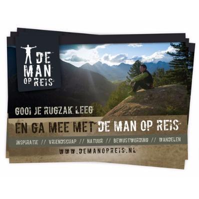 De Man Op Reis