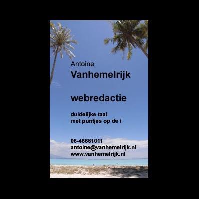 Vanhemelrijk Tekst- en Webredactie