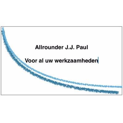 Allrounder J.J. Paul