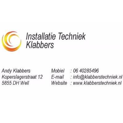 Installatie Techniek Klabbers