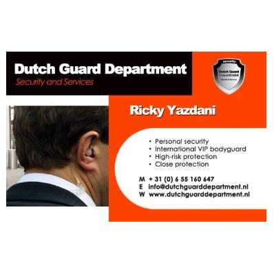 Dutch Guard Department (Security & Services)