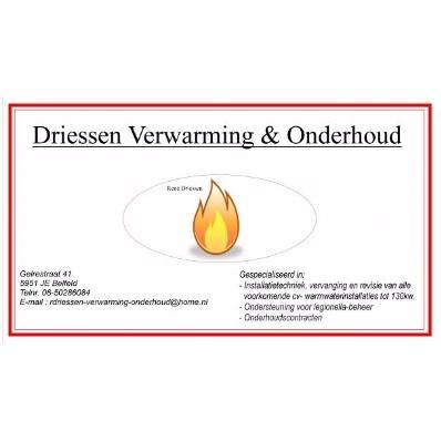 Driessen Verwarming & Onderhoud