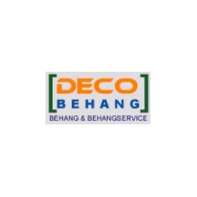 Decobehang - Fotobehang