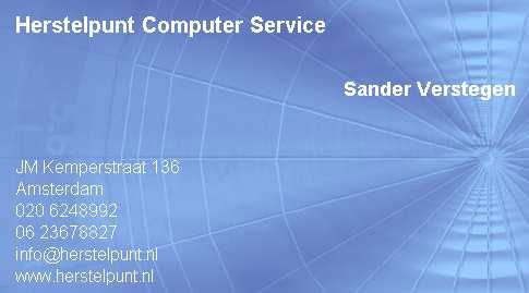 Afbeelding van Herstelpunt Computer Service
