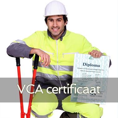 Afbeelding van VCA Certificaat