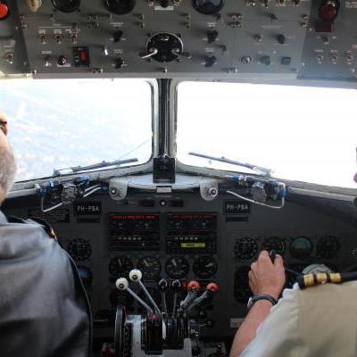 Cockpit DC-3