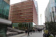 Zuidas Amsterdam zakenmensen