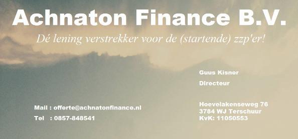 Afbeelding van Achnaton Finance B.V.