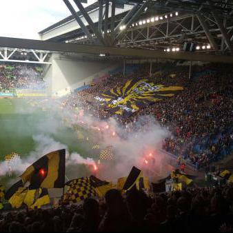 Supporters voetbalstadium