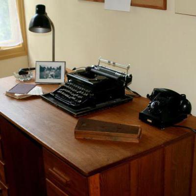 Oud bureau