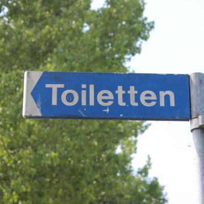 Toiletten bord