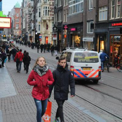 Politiewagen Amsterdam