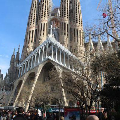 Barcelona familia sagrada