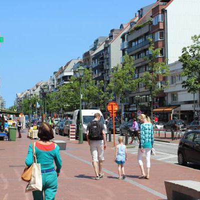 Winkelstraat Knokke