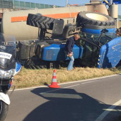 Ongeluk tractor