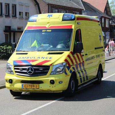 Ambulance voorkant