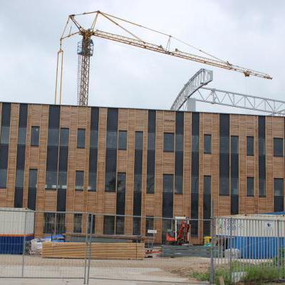 Nieuwbouw kantoor
