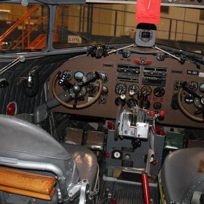 Cockpit vliegtuig
