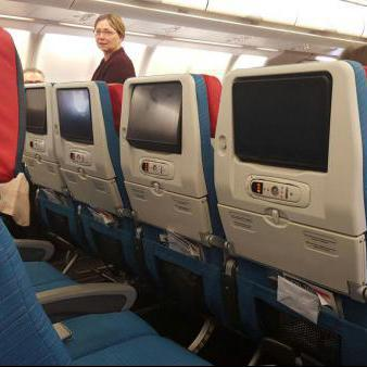 Interieur vliegtuig