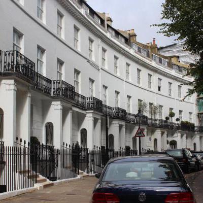 Mooie straat Londen