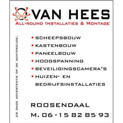 AllRound Installatie  Montagebedrijf van Hees