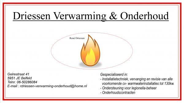 Afbeelding van Driessen Verwarming  Onderhoud