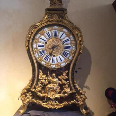 Antieke klok goud