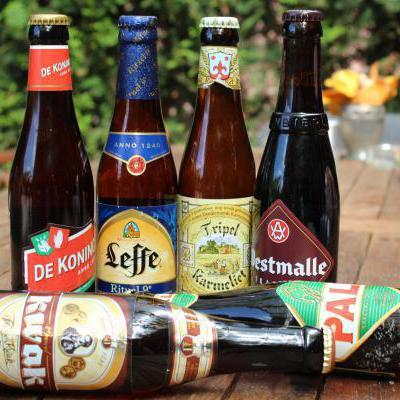 Verschillende biersoorten