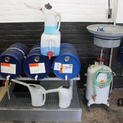 Vloeistof Opstelling garage