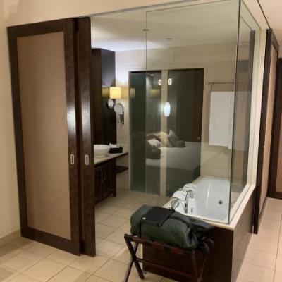 Badkamer hotelkamer