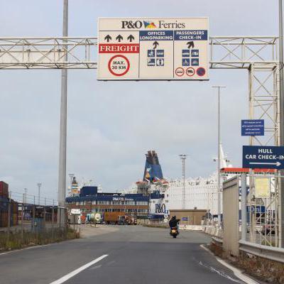 Toegangspoort havengebied