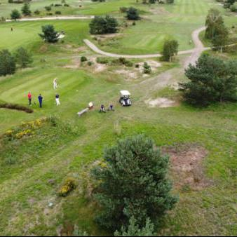 Golfers golfbaan