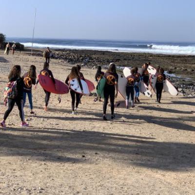 Mensen aan het strand