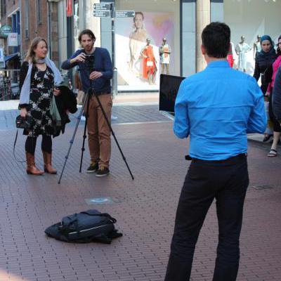 Opnames op straat