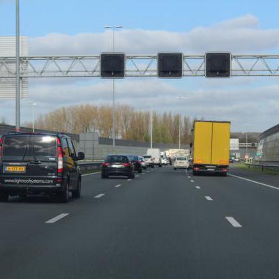 Matrixborden snelweg