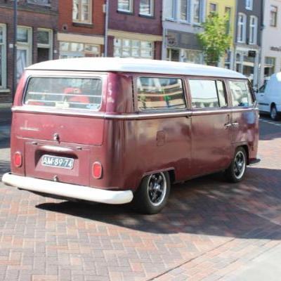 Oldtimer Volkswagens busje