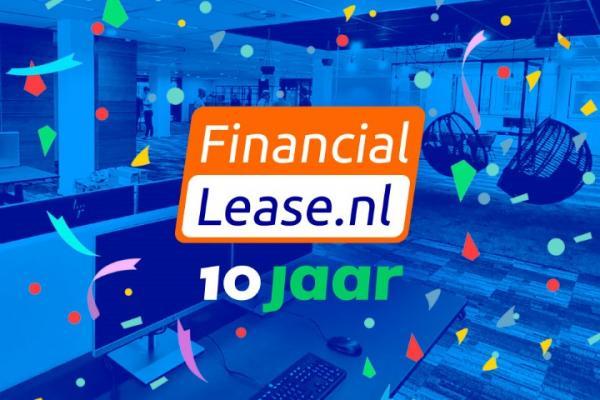 FinancialLease.nl bestaat 10 jaar en geeft een jaar gratis leasen weg