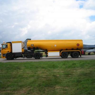 Tankauto luchthaven