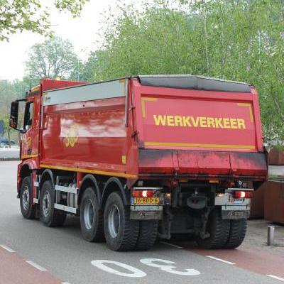 Machinist wegenbouw