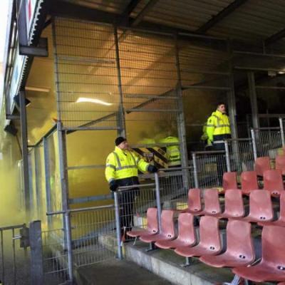 Stewards voetbalstadion