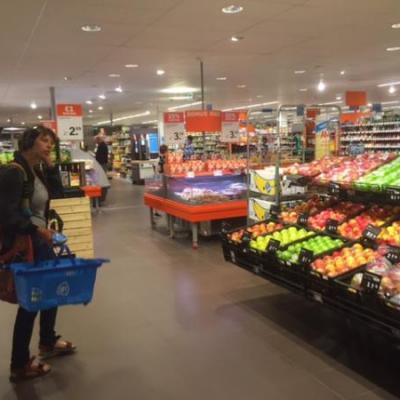 Supermarktmedewerker