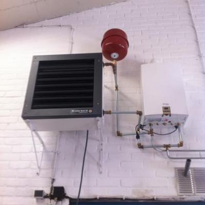 Verwarmingsmonteur