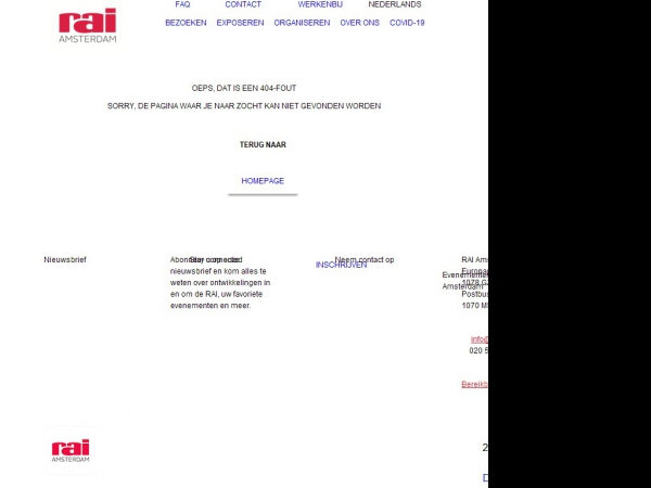 Meer informatie over Safety & Security Amsterdam.