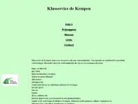 Website van Klusservice de Kempen