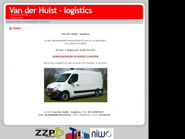 Website van koerier service tilburg