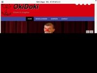 Website van Clown & Jongleur OkiDoki