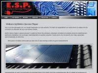 Website van Elektro Service Pieper
