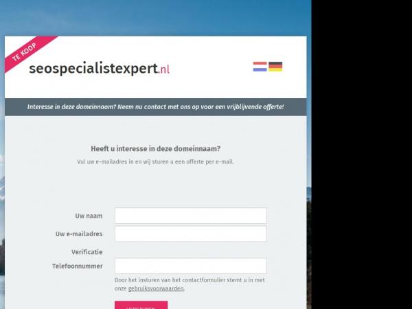 Website van SEO Specialist & Expert