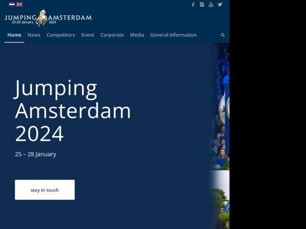 Meer informatie over Jumping Amsterdam.