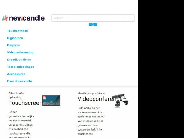 Website van Beamers-en-Touchscreens.nl